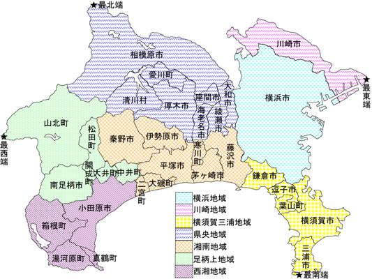 神奈川县属于东京都吗