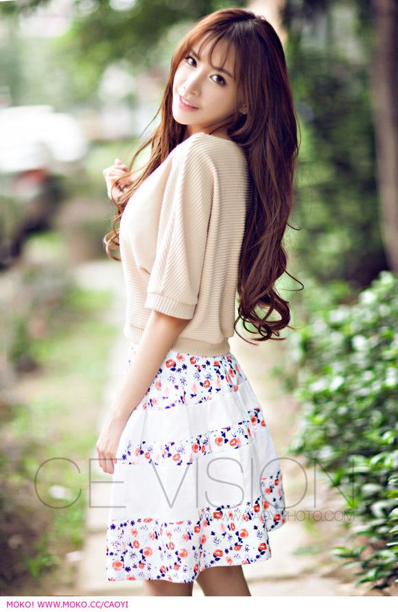 一个台湾姑娘网红