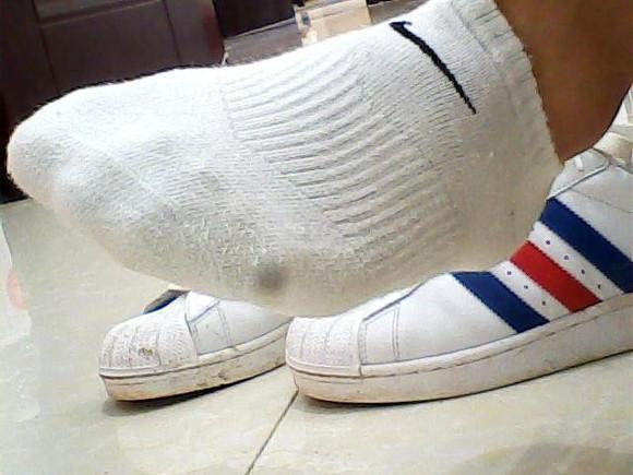白袜学生鞋