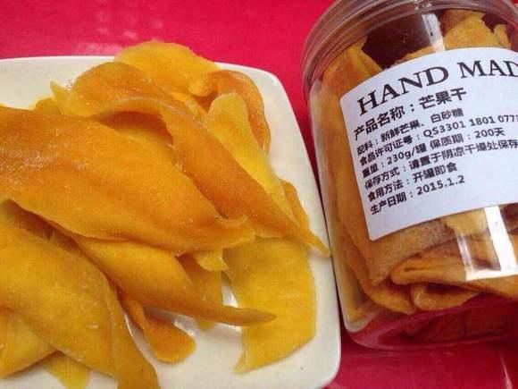 这很中国芒果干