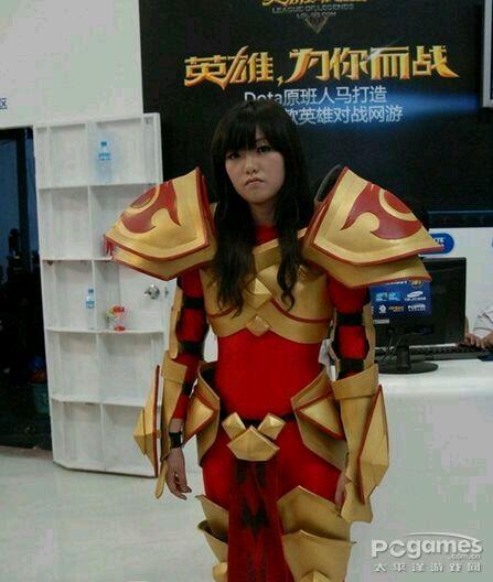 lol cosplay美女 卖肉