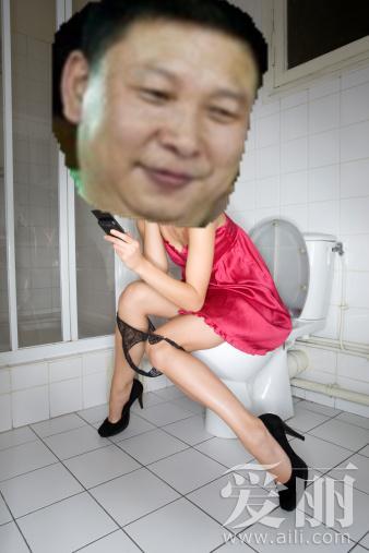 厕所男的微博