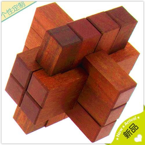 孔明锁木盒怎么打开