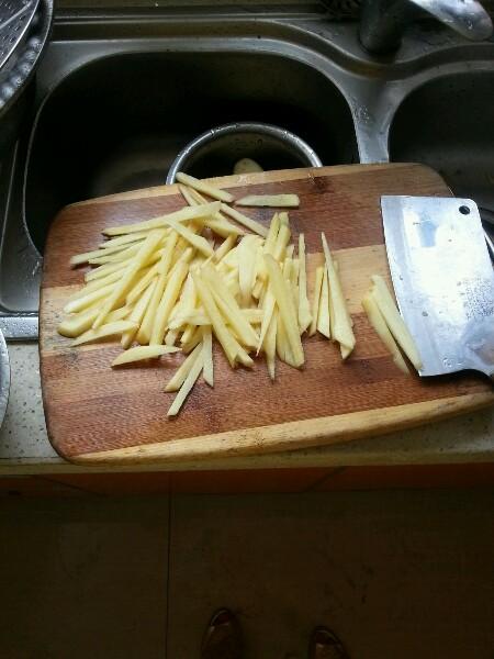 第一次做饭