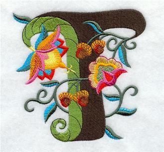 刺绣图案简单花朵