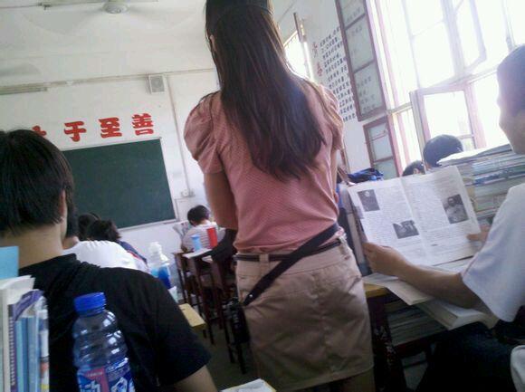 我和语文老师啪啪啪