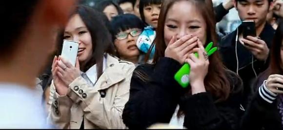 日本快闪求婚视频