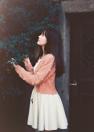 韩国sejin 红毛衣