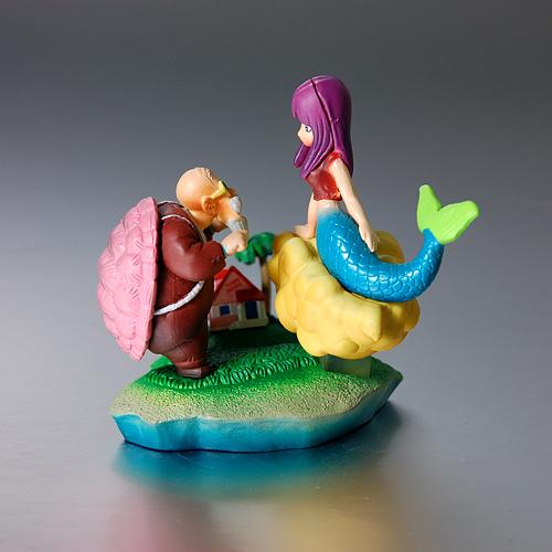 美人鱼水下打麻将