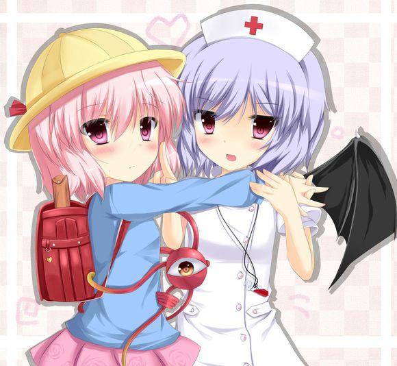 动漫萝莉护士被绑架图