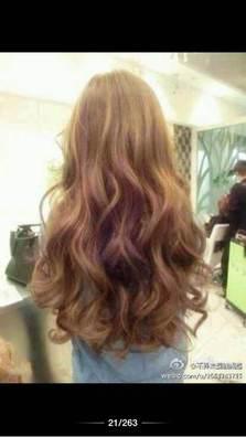 片【图】烫发短发水波;_发型设计图片