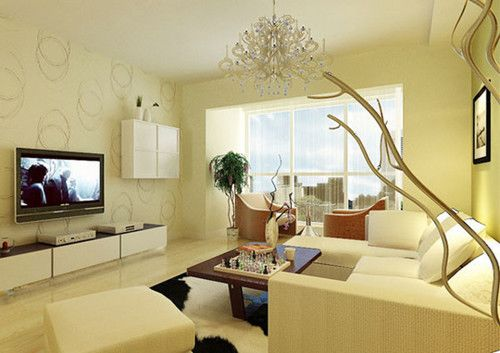 转贴:客厅装修怎么办 看电视背景墙装修效果图大全_装