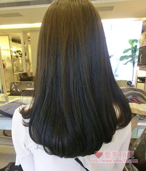 发尾微卷长发发型 发尾微卷长发发型画法