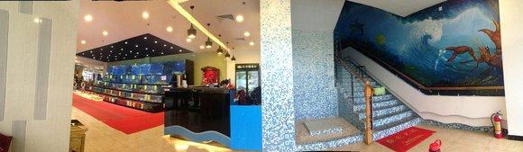 石家庄桥西含韵墙绘工作室提供幼儿园喷绘,商业彩绘,家装手绘图片