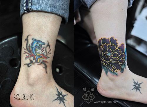 脚上的纹身分享展示图片