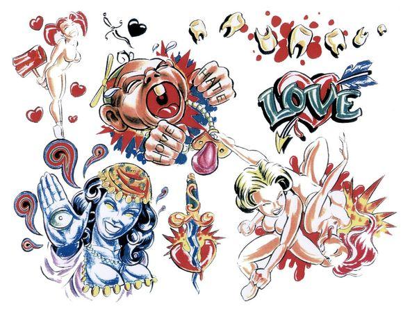 关于纹身图案v纹身淮北市金石建筑设计图片