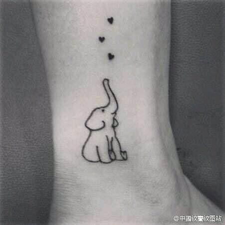 脚背纹身 脚面纹身 樱花纹身_纹身图案图片