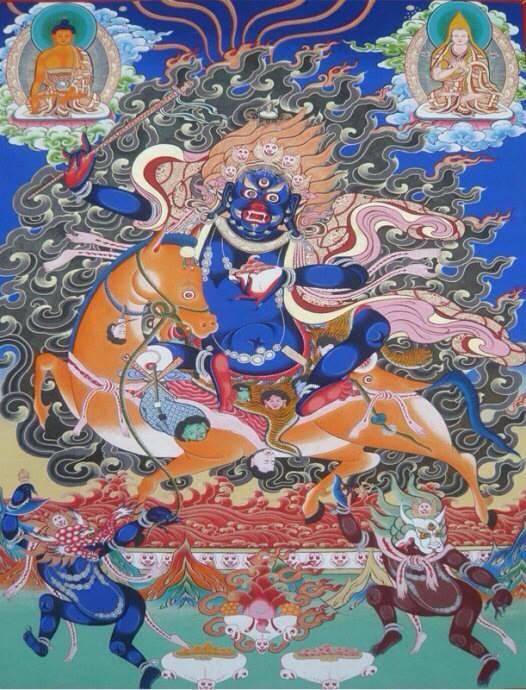 (转)了解一下藏传佛教护法图片