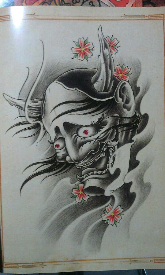 班诺鲤鱼纹身 手稿_纹身图案图片