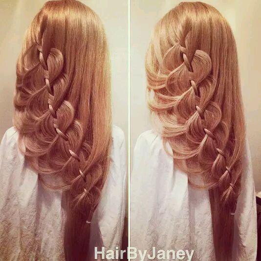 我要去学扎头发!图片