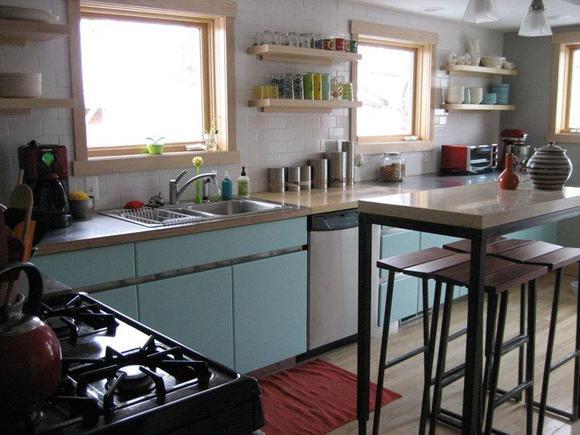 发国外真实房间的图片,厨房篇图片