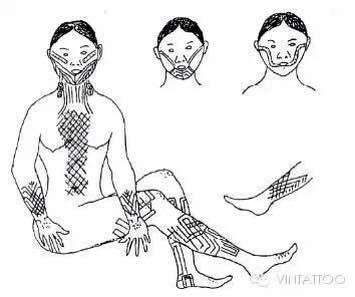 外哥哥第三弹:中国的原生态纹身-黎族纹身(非物质文化图片
