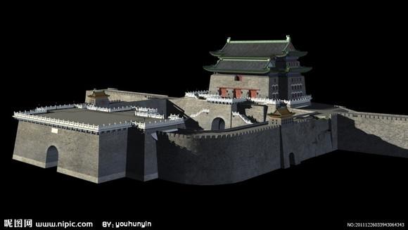 中国古代城防建筑大全图片