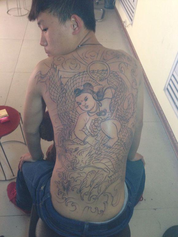 还有就是纹哪吒有什么_纹身图案图片