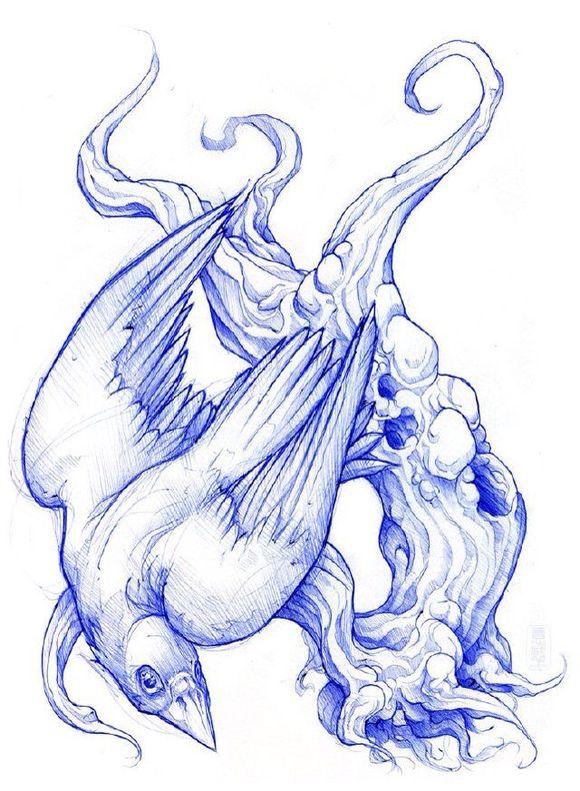 半甲纹身手稿: 半甲 老虎图片