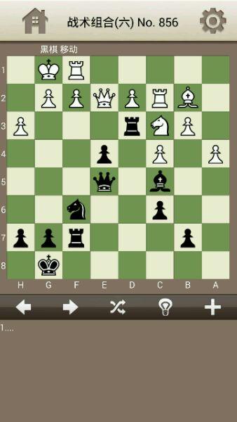 经典的战术组合 看看你的水平如何_国际象棋吧_百度图片