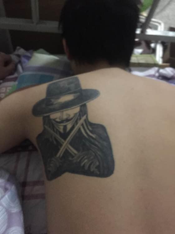 咨询 想不想莪阿 上尉 8 鹿森姑娘lily 新兵 1             洗纹身的图片