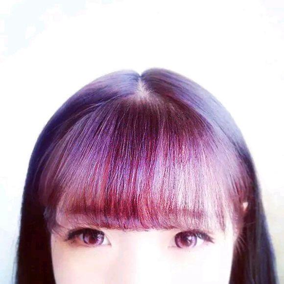 现在头发流行什么颜色图片