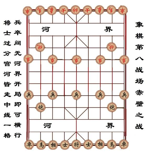 依照中国象棋原班人马图片