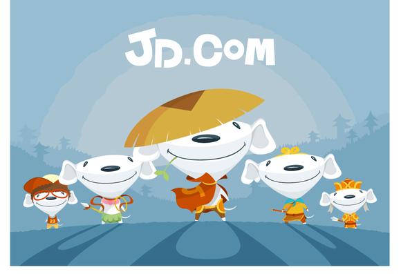 【京东吉祥物joy】为原理展开图片图片