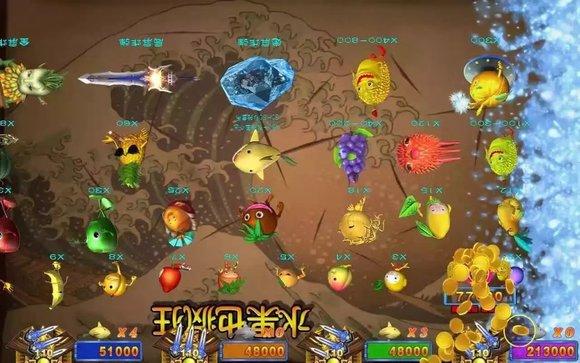 水果也疯狂游戏机