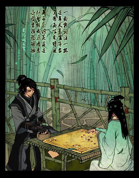 晋磊后来在贺文君死后神智有点异常,最后报仇杀死了叶问闲全家包括