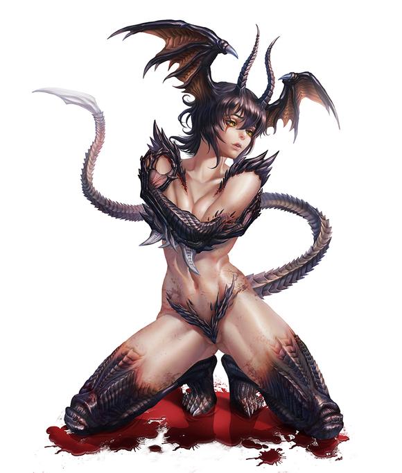 有没有其他类似  女恶魔人>>这种美女变身怪兽的漫画