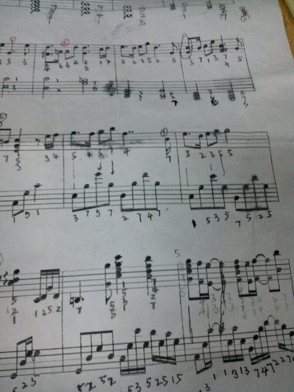 请问 久石让 天空之城钢琴曲的简谱 双手的 要完整!图片