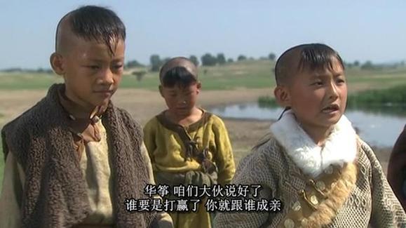 华筝的哥哥托雷,却一心要华筝嫁给郭靖.不愧是好哥们