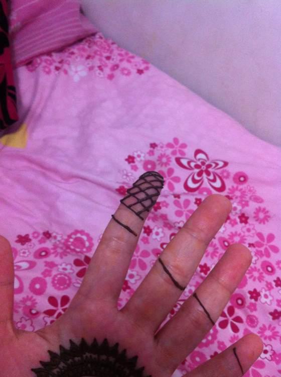 回复:印度纹身膏(海娜)手绘民族风图案教程图片