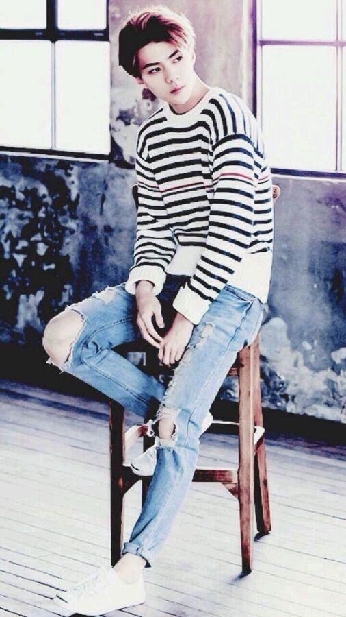 EXO吴世勋高清萌帅壁纸图片_明星图片_深港精品库-世勋图片手机壁