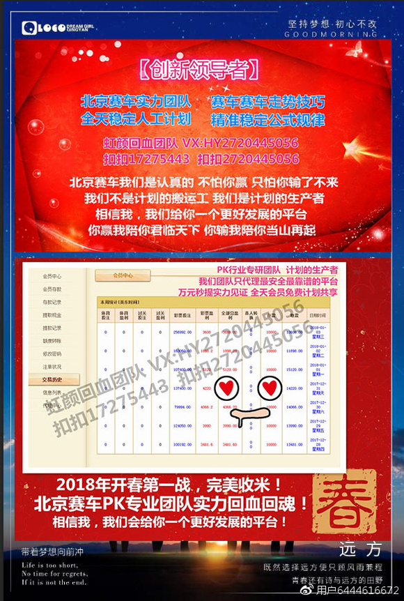 北京赛车是一款讲究走势技巧的彩票,根据别人的计划又或者拼运气