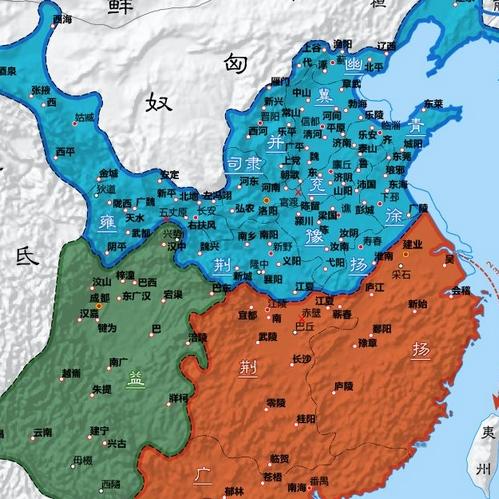 三国时期曹魏,蜀汉,东吴谁的底盘比较大?