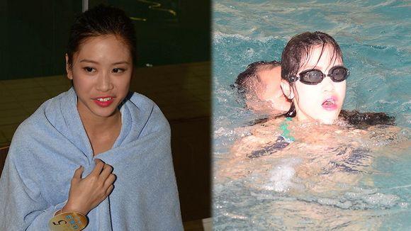 《2015香港小姐竞选》水上擂台 佳丽抽筋险遇溺 泳装照首次曝光图片