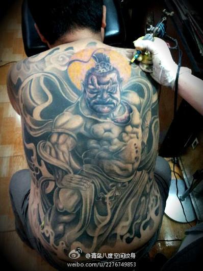 青岛艺秀堂纹身分享展示图片
