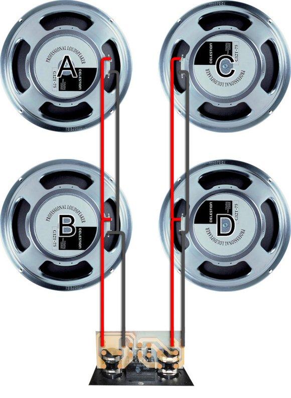 箱体和喇叭的连接阻抗图片