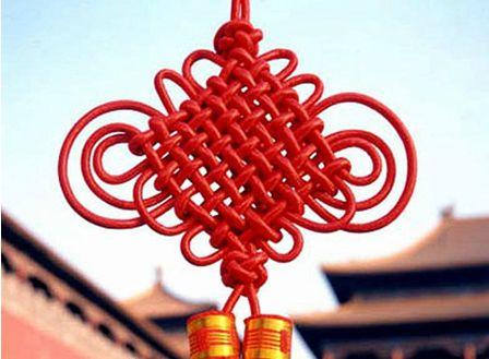 如意结,就是这种最常见的中国结啊(>_ )