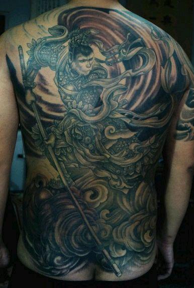 跪求各种齐天大圣的纹身手稿图片
