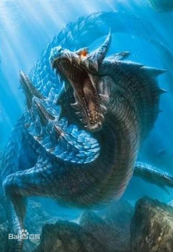 《怪物猎人3g》最后登场的怪物冥海龙!
