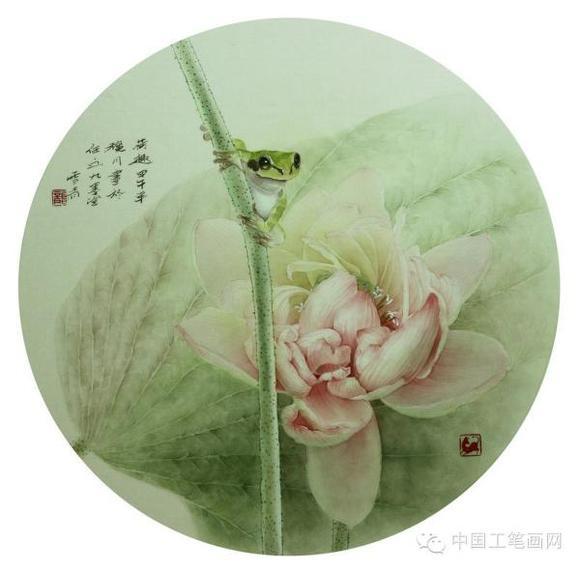 写实工笔画家龚雪青 最新没骨小品欣赏 一